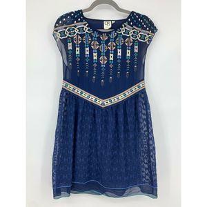 One September Anthropologie Calliope XXS dress